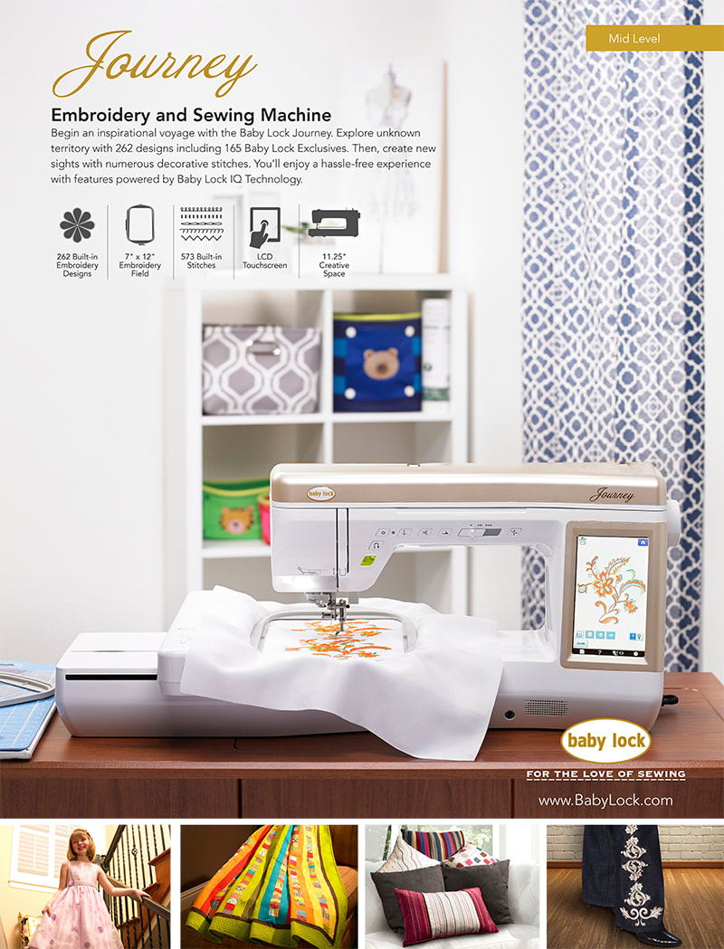 Baby Lock Journey Sewing & Embroidery Machine